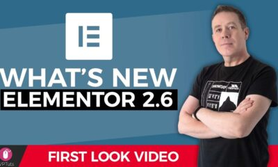 ELEMENTOR: What's New In Version2.6? - SVG Font Awesome 5 & more
