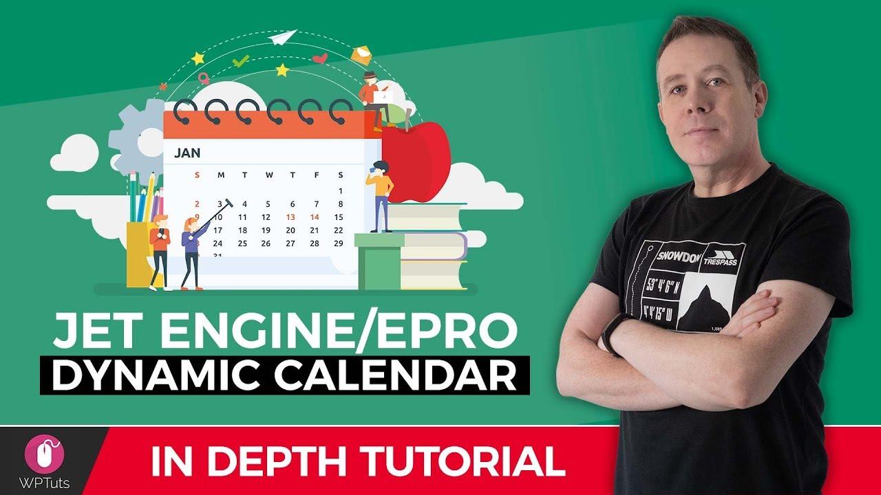 Dynamic WordPress Calendar with Elementor & JetEngine