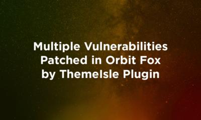 Multiple Vulnerabilities Patched in Orbit Fox by ThemeIsle Plugin