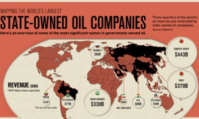 Mapped: The World's Largest State-Owned Oil Companies