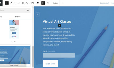 Automattic Launches the Blank Canvas WordPress Theme for Building Single-Page Websites