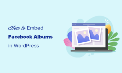 Embedding Facebook albums in WordPress posts and pages