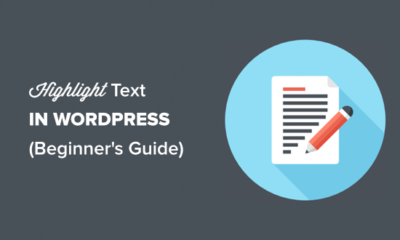 Highlighting text in WordPress