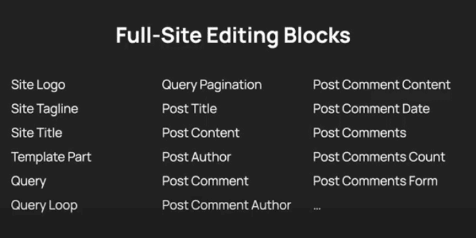 Full-Site-Editing: MVP and Ultimate Resource List