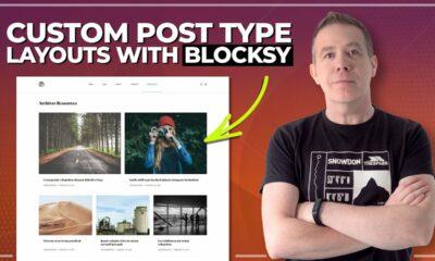 Easy Custom Post Type Design With Blocksy FREE WordPress Theme (CPT)