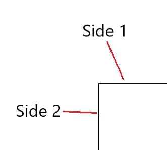 Each corner has two radii, one for each edge. For example, the top-left corder of a box has two radii, one for its left edge and one for its top edge.