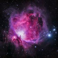 The sample Nebula Image from Unsplash on the Eleventy Image docs