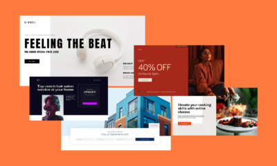 Meet Our New Landing Page Templates for Online Businesses