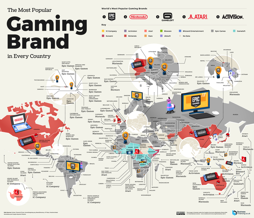 Most Searched Gaming Brand in the World 820px