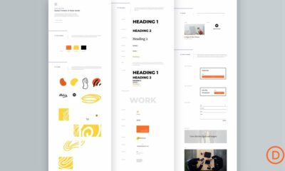 Download a FREE Global Presets Style Guide for Divi's Painter Layout Pack