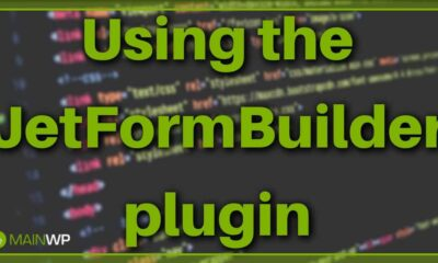 Using the JetFormBuilder plugin for Creating Site Forms