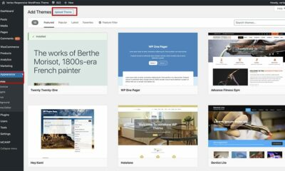 install and upload WordPress theme beginner guide