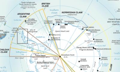 antarctica territorial claims