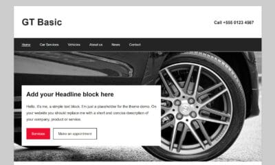 GermanThemes Releases Block-Ready GT Basic WordPress Theme With Custom Patterns