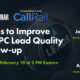Top Tips to Improve Your PPC Lead Quality & Follow-up [Webinar] via @lorenbaker