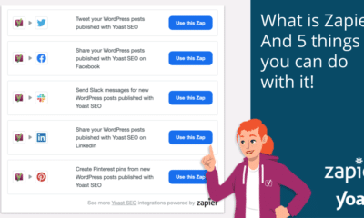 What is Zapier? And 5 things you can do with it!