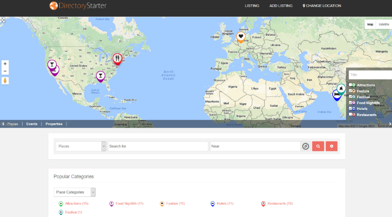geodirectory is a popular wordpress directory plugin