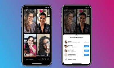 Instagram Lets Up to 4 People Go Live in One Stream via @MattGSouthern