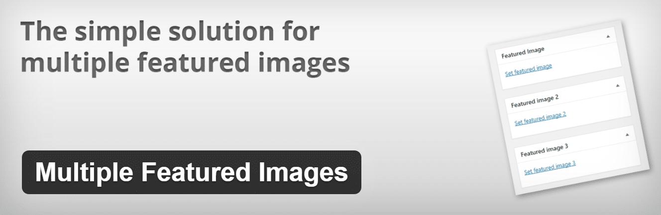 Multiple Featured Images plugin