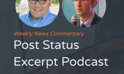 Cory Miller and David Bissett host the Post Status Excerpt Podcast