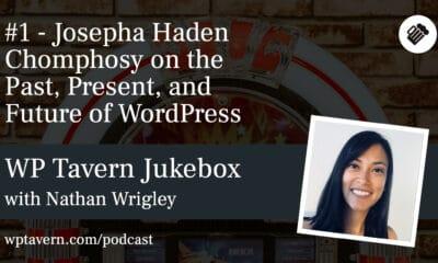 #1 – Josepha Haden Chomphosy on the Past, Present, and Future of WordPress
