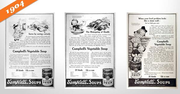 advertising history campbells kids campaign