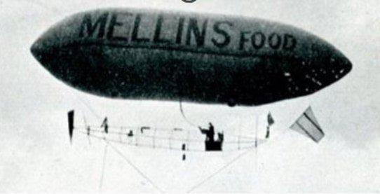 advertising history mellins airship
