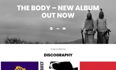 Recreating the Music Artist WordPress Theme Homepage With the Block Editor
