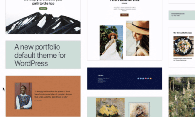 First Look at Initial Designs for WordPress' Block Pattern Directory