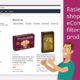 Easier online shopping with eCommerce filters for products