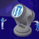 WordPress version, featured image, illustration.