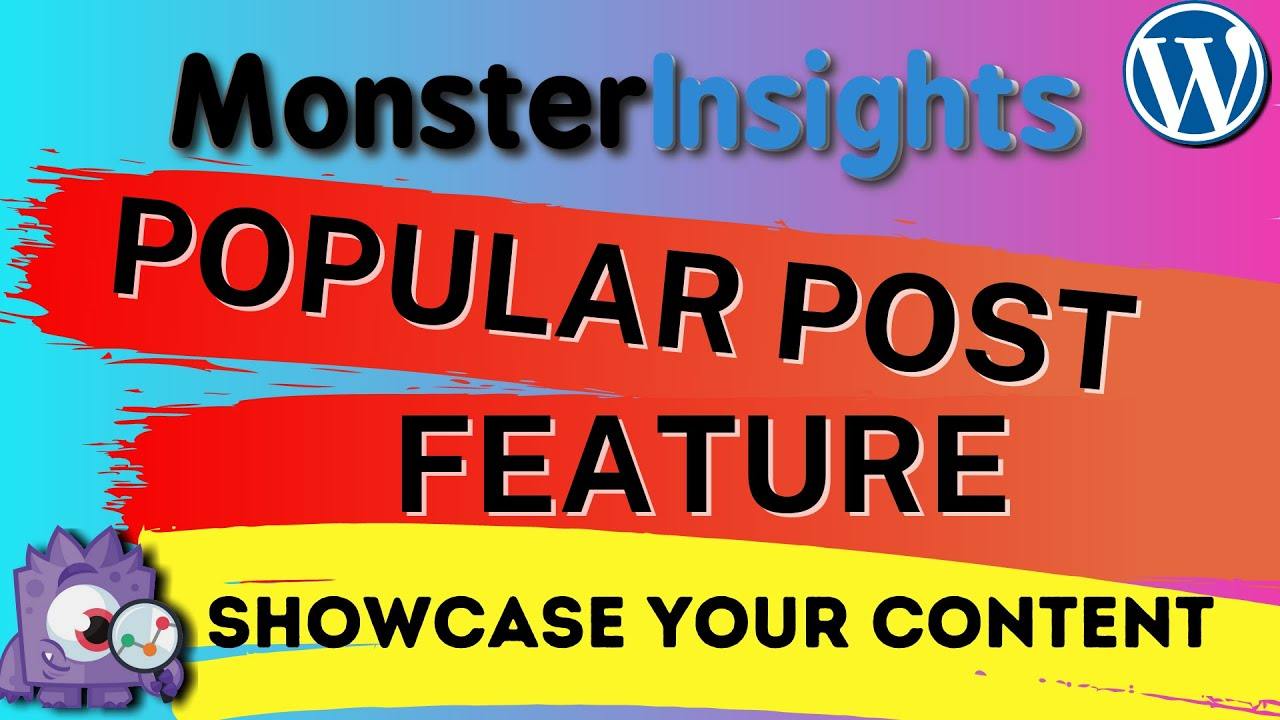 Getting Started With MonsterInsights Popular Posts Feature