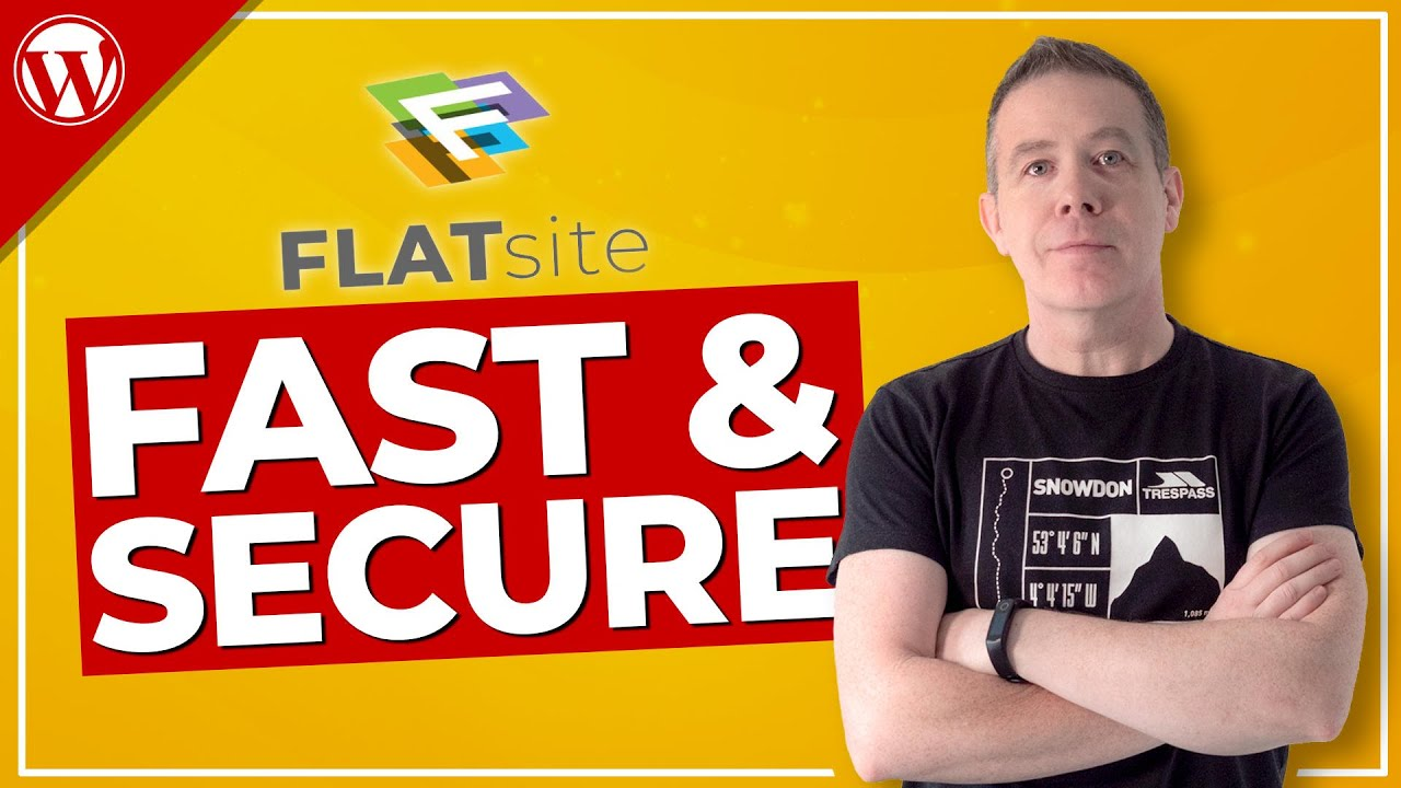 Faster WordPress Website | Faster & More Secure with FLATsite