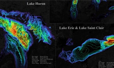 Visualizing the Depth of the Great Lakes