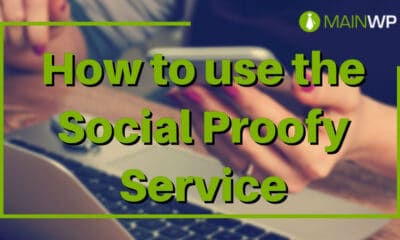 How to use the Social Proofy Service on your Site