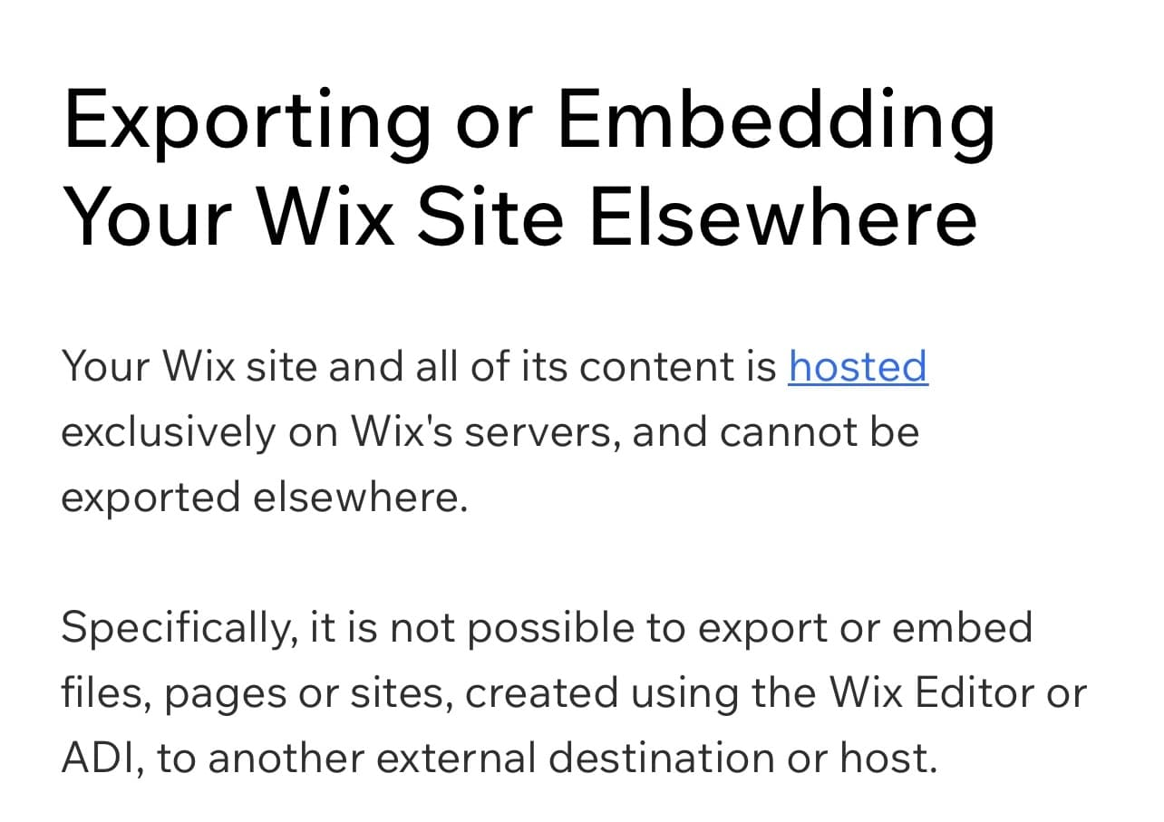 Wix and Their Dirty Tricks