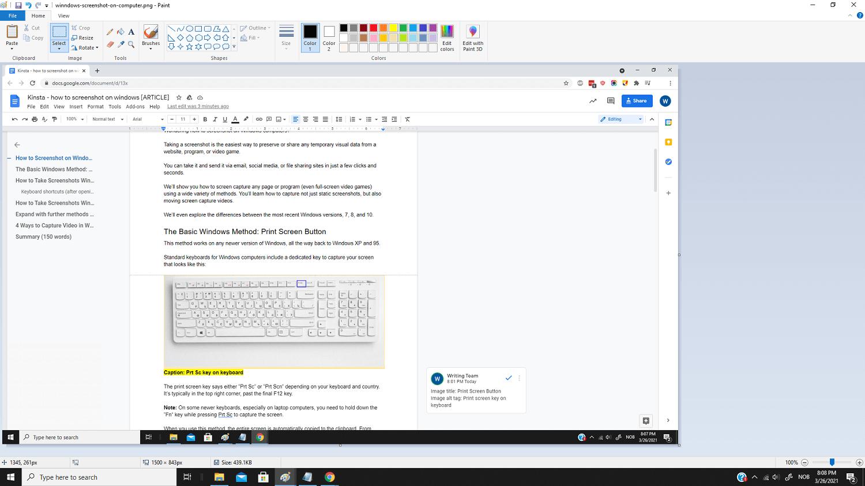 Screenshot in MS Paint.