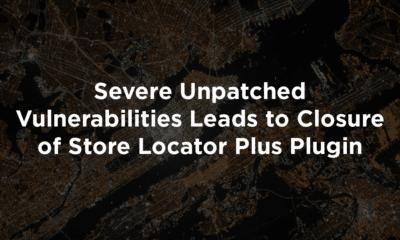 Severe Unpatched Vulnerabilities Leads to Closure of Store Locator Plus Plugin