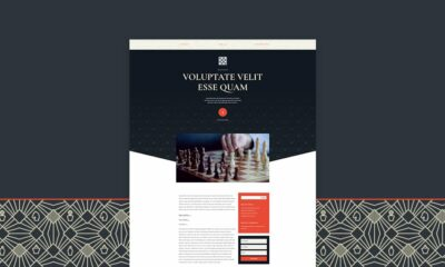 Download a FREE Blog Post Template for Divi's Chess Club Layout Pack