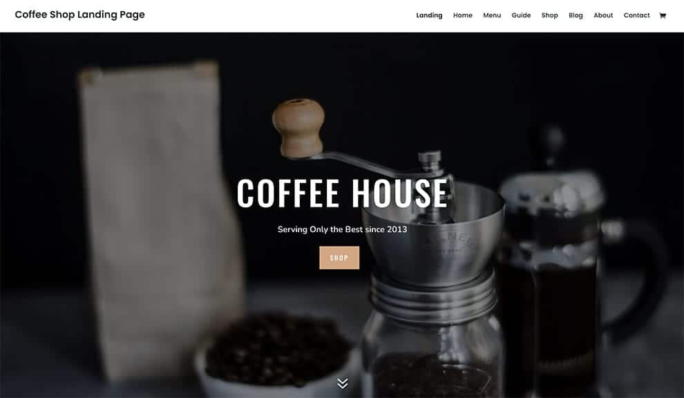 Coffee Shop Layout