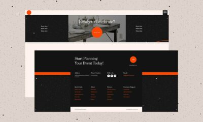 Download a FREE Header & Footer for Divi's Event Venue Layout Pack