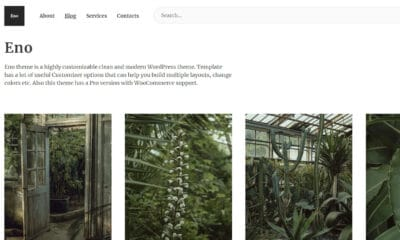 Enō: 'Probably This Is the Best Blogging Theme Ever'