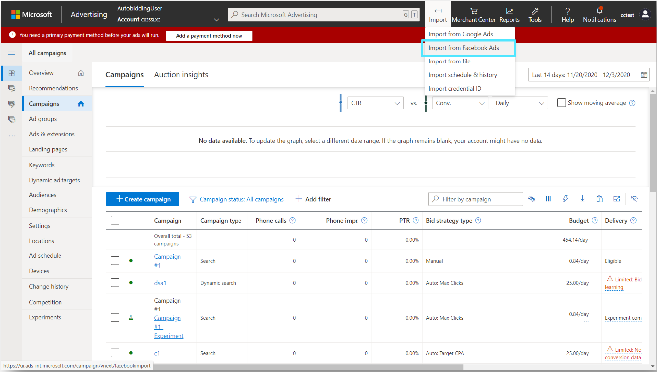 Microsoft Audience Network Introduces Facebook Import & Video Ads