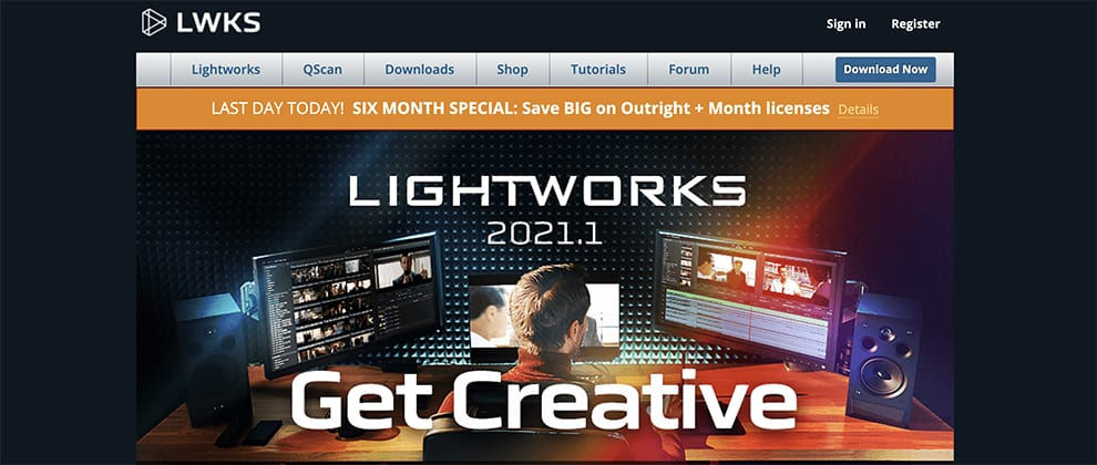 Lightworks editor free video editor