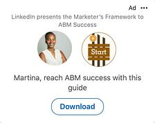 LinkedIn Dynamic Content Ad