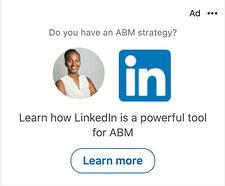 LinkedIn Dynamic Spotlight Ad