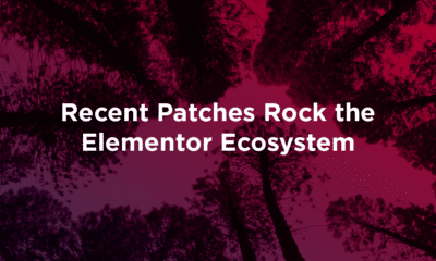 Recent Patches Rock the Elementor Ecosystem