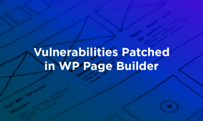 Vulnerabilities Patched in WP Page Builder