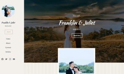 Recreating the Classic Wedding WordPress Theme Homepage With the Block Editor