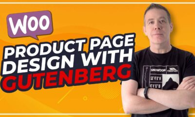 WooCommerce Product Page Design with Gutenberg